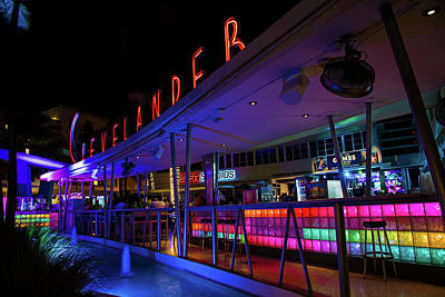 Clevelander Bar Art Print by Rick Bravo