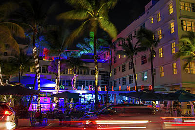 Clevelander South Beach Art Print by Rick Bravo