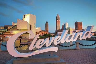 Photograph - Cleveland's North Coast by Brent Durken