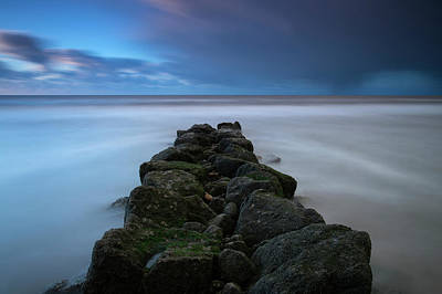 Photograph - Cleveleys Beach, Lancashire, England by David Stanley
