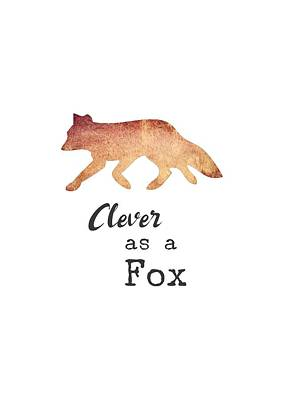 Digital Art - Clever As A Fox by Eleanore Ditchburn