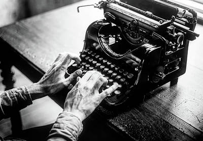 Typewriter Keys Photograph - Click Clack by Raw Pixel
