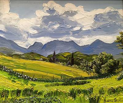 Painting - Clifden Landscape Ireland by Diana Shephard