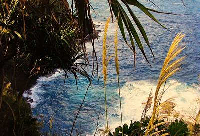 Photograph - Cliff  by Alohi Fujimoto