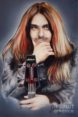 Bassist Mixed Media - Cliff Burton by Melanie D