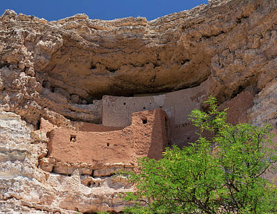 Photograph - Cliff Dwellings by Arthur Dodd