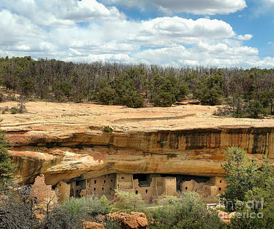 Photograph - Cliff Dwellings Of Mesa Verde by Kenneth Murray