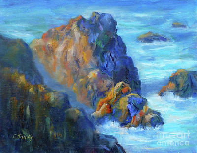 Painting - Cliff Edge by Carolyn Jarvis