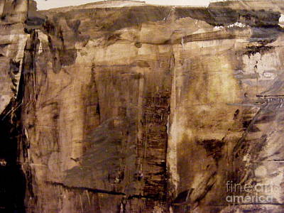 Painting - Cliff Face by Nancy Kane Chapman