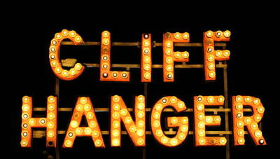 Photograph - Cliff Hanger by Dana  Oliver