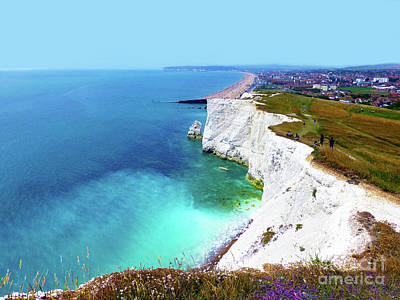 Photograph - Cliff Landscape by Francesca Mackenney