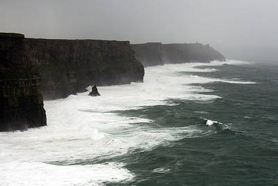 Beautiful Ireland Photograph - Cliff Of Moher by John Quinn