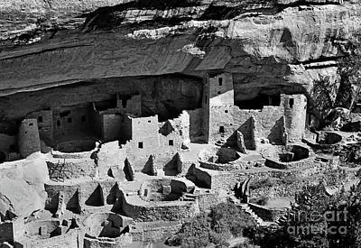Pueblo Architecture Photograph - Cliff Palace by Jim Chamberlain