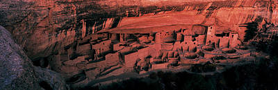 Pueblo Photograph - Cliff Palace Mesa Verde National Park by Panoramic Images