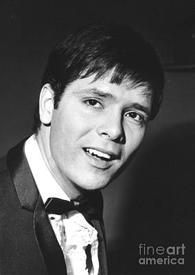 Photograph - Cliff Richard 1960's by Chris Walter