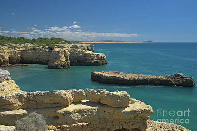 Water Photograph - Cliff Scenery Near Albandeira Beach by Angelo DeVal