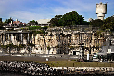 Photograph - Cliff Side Of Cockatoo Island by Miroslava Jurcik