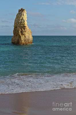 Photograph - Cliff Sight In Carvalho Beach. Algarve by Angelo DeVal
