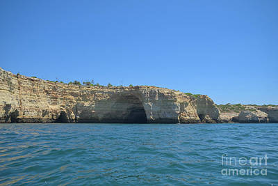 Travel Photograph - Cliff Tour In The Coast Of Carvoeiro 2 by Angelo DeVal
