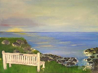 Painting - Cliff View by Karen Jane Jones