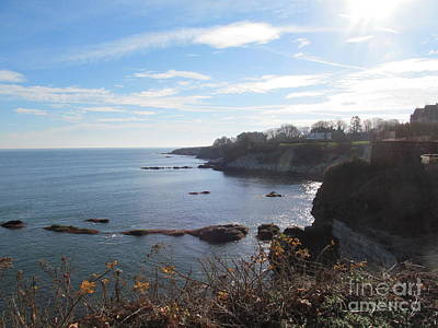 Photograph - Cliff Walk Newport Ri by Loretta Pokorny
