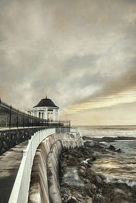 Photograph - Cliff Walk Newport by Robin-Lee Vieira