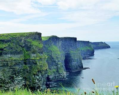 Photograph - Cliff Walk Of Moher by Barbie Corbett-Newmin