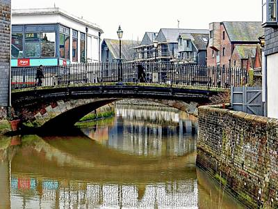Photograph - Cliffe Bridge Lewes by Dorothy Berry-Lound
