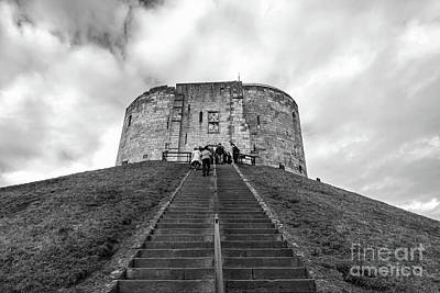 Photograph - Cliffords Tower by David  Hollingworth