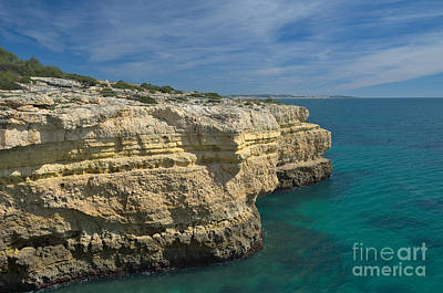 Iberian Photograph - Cliffs And Turquoise Waters by Angelo DeVal