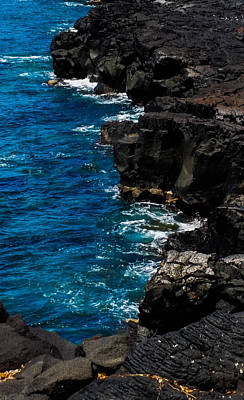 Photograph - Cliffs And Water by Pamela Walton