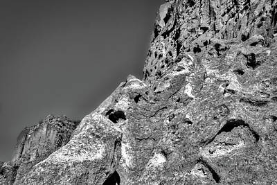 Cliffs At Bandelier #3 Art Print