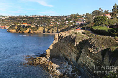 Photograph - Cliffs At La Jolla, San Diego by Steven Spak