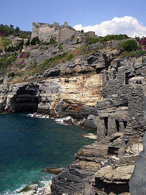 Photograph - Cliffs At Porto Venere by Lynda Lehmann