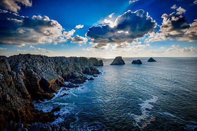 Photograph - Cliffs At The Cape by Michael Damiani