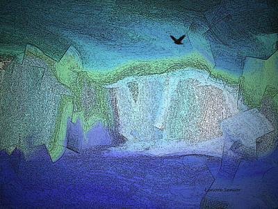 Cliffs At The Sea Art Print
