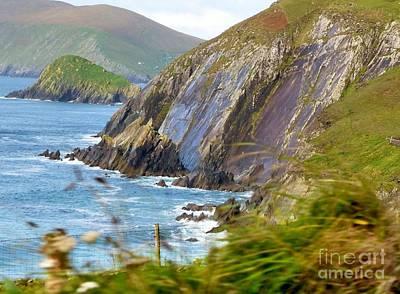 Photograph - Cliffs Of Dingle Bay by Rosanne Licciardi