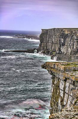 Photograph - Cliffs Of Dun Aengus by Elvis Vaughn
