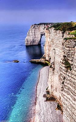 Photograph - Cliffs Of Etretat 2 by Weston Westmoreland