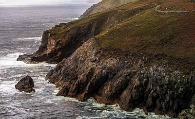 Photograph - Cliffs Of Ireland by Jaroslaw Blaminsky