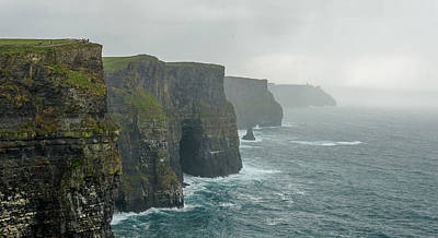 Wall Art - Photograph - Cliffs Of Moher by Adrian O Brien