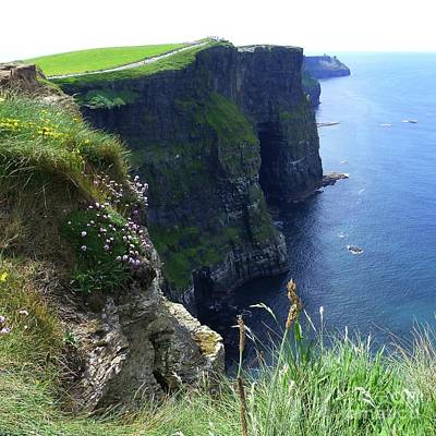 Photograph - Cliffs Of Moher by Barbie Corbett-Newmin