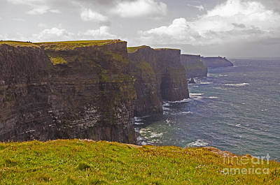 Photograph - Cliffs Of Moher by Cindy Murphy - NightVisions