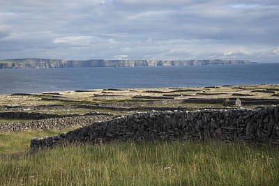 Photograph - Cliffs Of Moher From Inisheer by John Farley