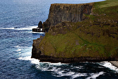 Photograph - Cliffs Of Moher Ireland 2 by Michelle Joseph-Long
