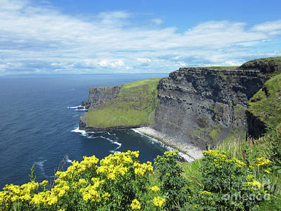 Photograph - Cliffs Of Moher Ireland 3 by Rudi Prott