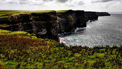 Photograph - Cliffs Of Moher Ireland by Michelle Joseph-Long