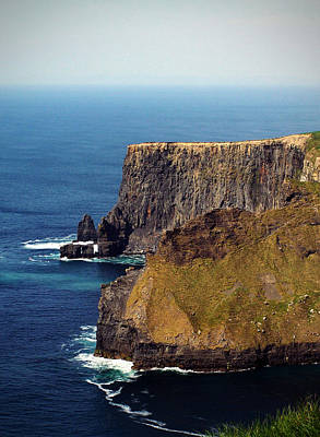 Cliffs Of Moher Ireland View Of Aill Na Searrach Art Print by Teresa Mucha