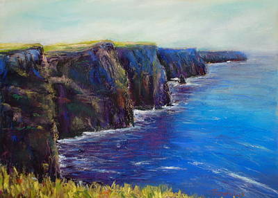 Cliffs Of Moher Art Print by Joyce A Guariglia