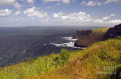 Photograph - Cliffs Of Moher  Hags Head Side by Cindy Murphy - NightVisions